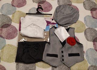 Disfraz Chulapo 1-2 años (1 puesta)