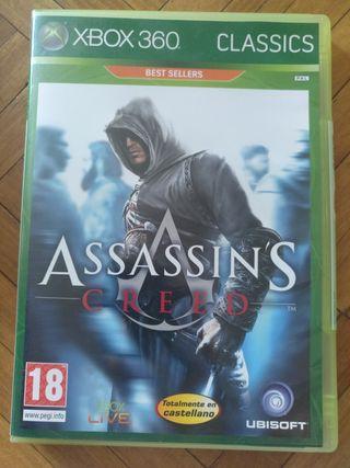 Juego Assasin's Creed para Xbox 360