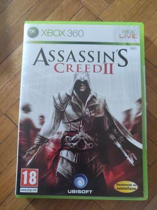 Juego Assasin's Creed II para Xbox 360