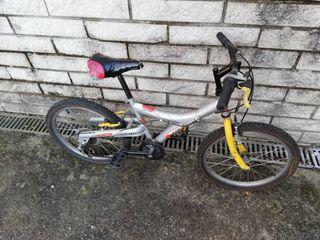 Bicicleta infantil con cambio