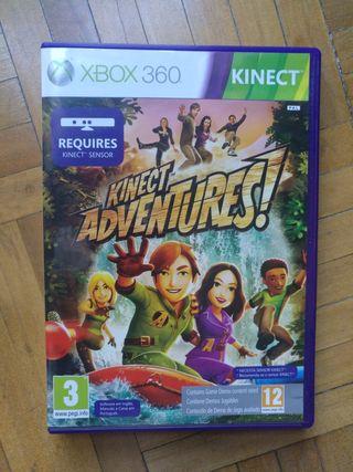 Juego Kinect Aventures para Xbox 360