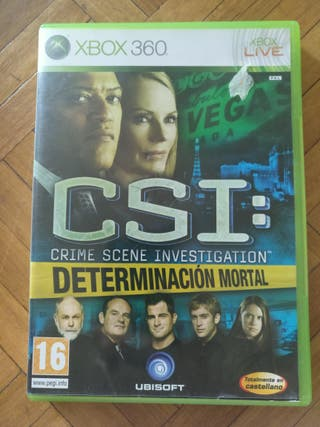 Juego CSI para Xbox 360