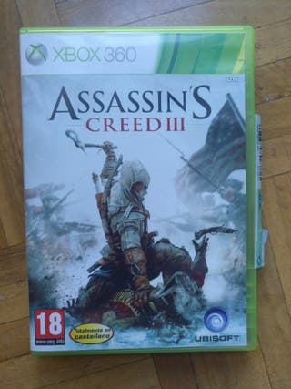 Juego Assasin's Creed III para Xbox 360