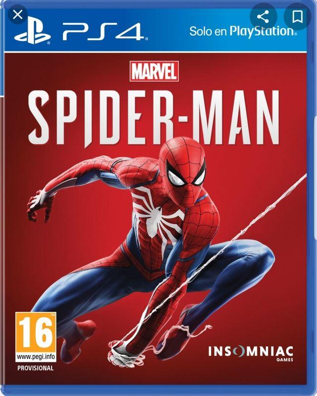 Juego Spiderman precintado