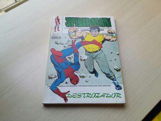 Spiderman coleccionista.Ediciones vértice.