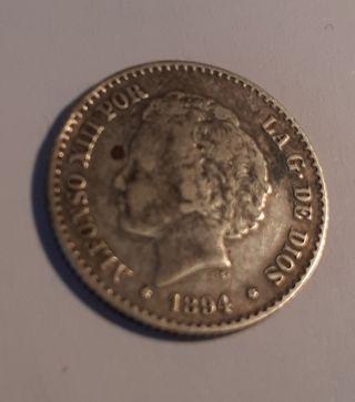 50 céntimos 1894 Alfonso XIII