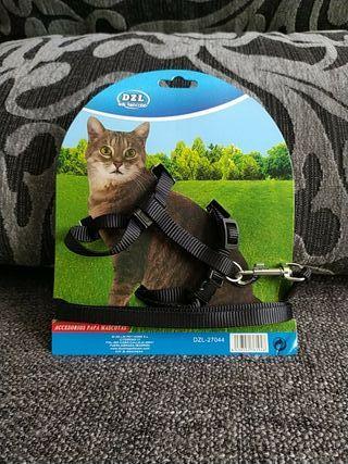Arnés para gato