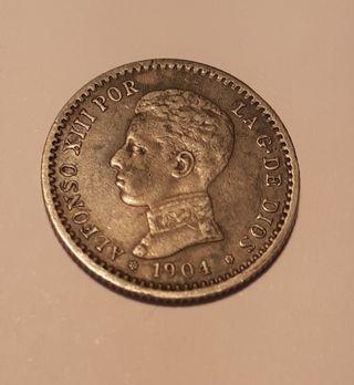 50 céntimos 1904 Alfonso XIII