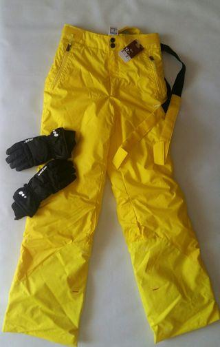 Pantaló esquí i guants