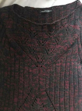 Knit stretching dress Size 12