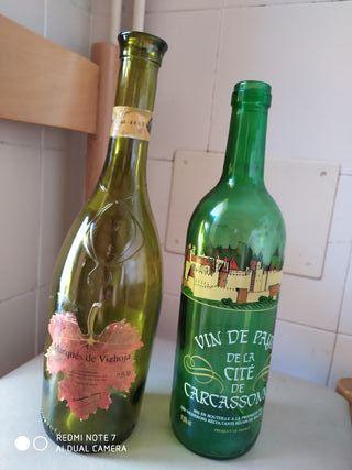 Botellas decoración