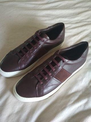 zapatillas nuevas piel. t42