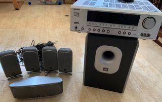 Home Cinema Onkyo TX-SR503 + Kit Altavoces JBL