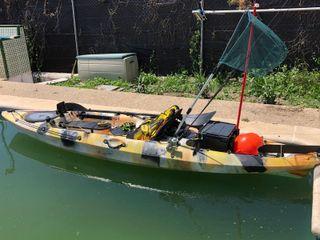 Kayak de Pesca listo para salir !