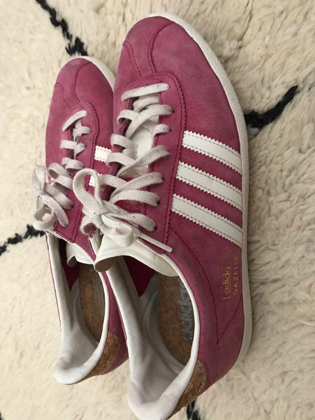 Adidas gazelle rosa. 40
