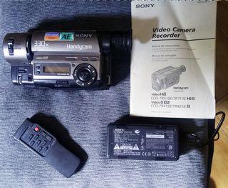 Videocámara 8mm Sony Handycam CCD-TR515E