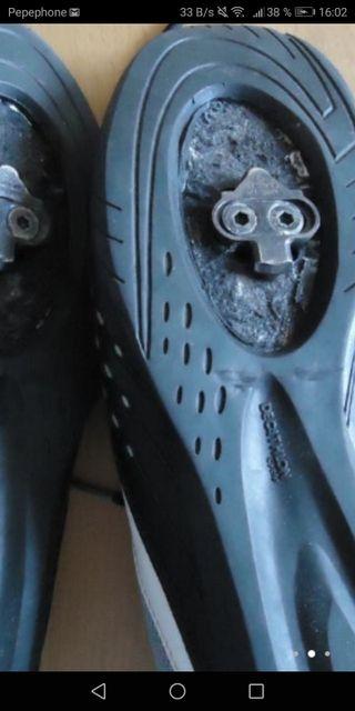 zapatillas con calas 38 y 39