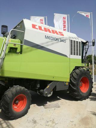 Cosechadora Claas Medion 340
