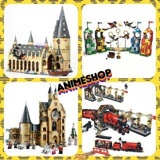 LOTE CONSTRUCCIÓN COMPATIBLE LEGO HARRY POTTER