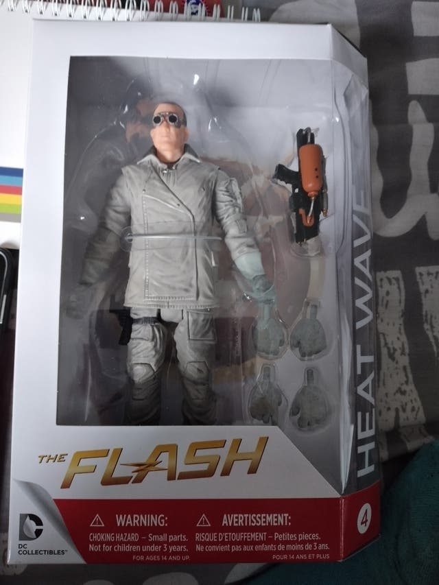 the flash DC collectors item