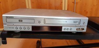 reproductor DVD y cintas VHS