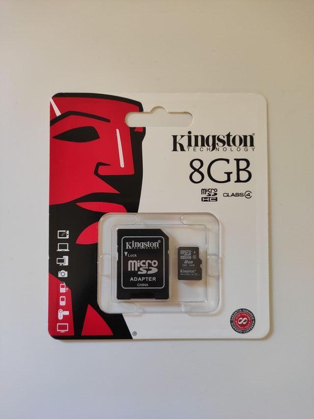 Tarjeta de memoria Micro SD 8gb