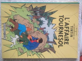 comics Tintín en francés
