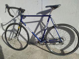 Bicicleta Carretera Clásica Fixie Carbono Talla L