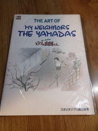 Libro The Art Of Mis vecinos los Yamada. Ghibli