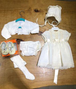 Nuevo Vestido bautizo ceremonias bebé niña ropa