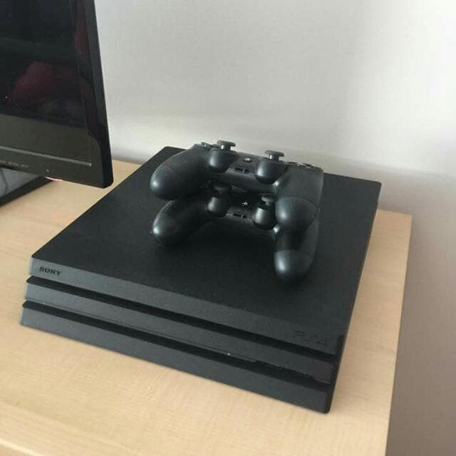 PS4 with controller and all wires needed