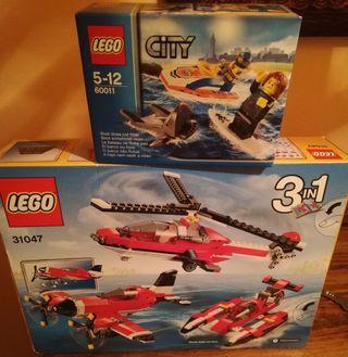 dos LEGO 60011 y 31047
