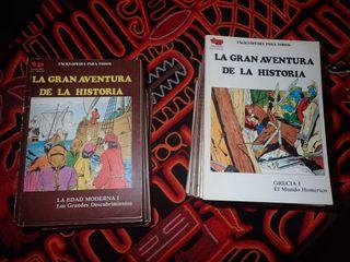 La gran aventura de la historia en cómics 1-34