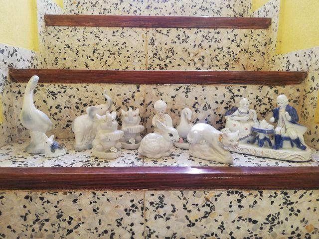 Se vende lote de figuras de porcelana