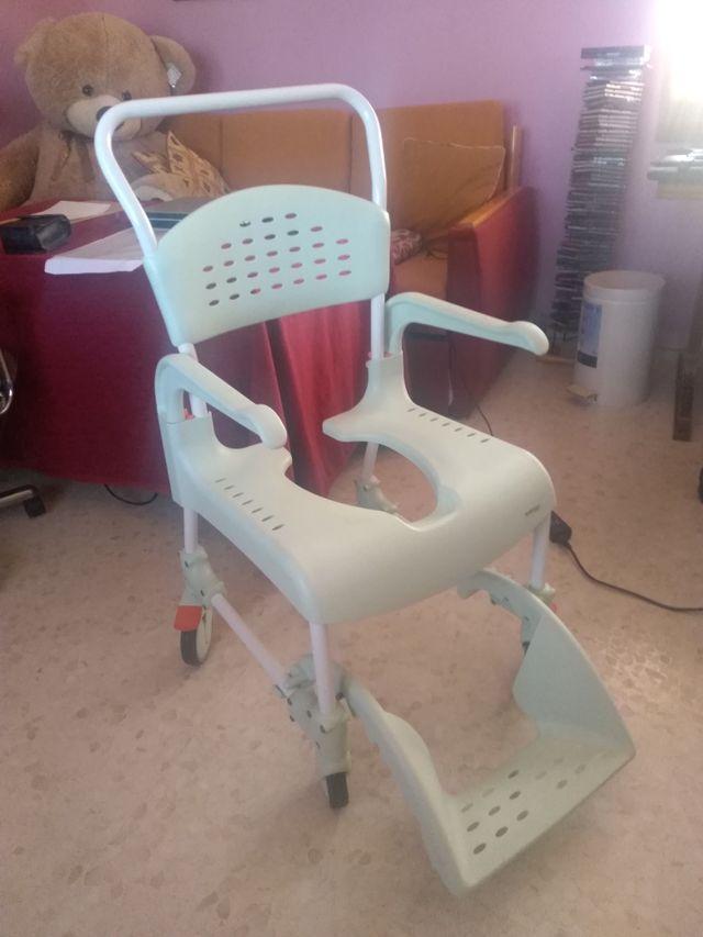 Silla de ruedas Ducha ETAC Clean
