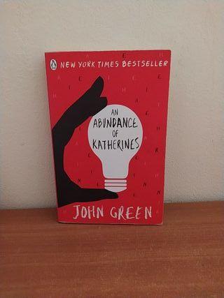 Libro An abundance of katherines en inglés