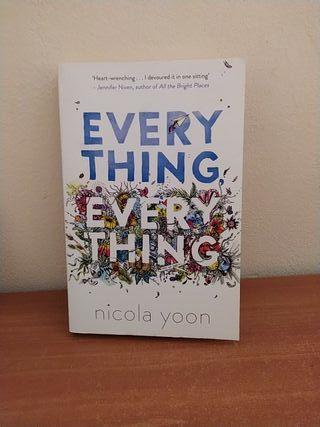 Libro Everything everything de Nicola yoon