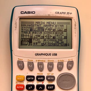Calculadora Casio Graph 35+