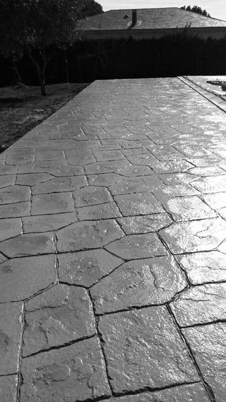 Pavage beton imprime 0615700101