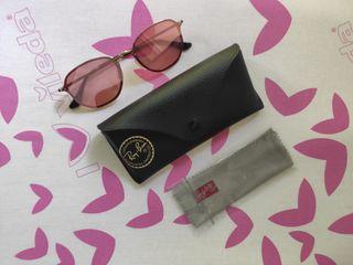 Gafas de sol RayBan cristal rosa