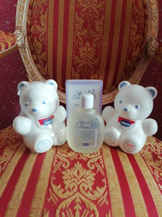 Colonia y jabón NUEVO osito muñeco oso