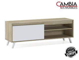 Mueble TV DALLAS, mesa television estilo nórdico