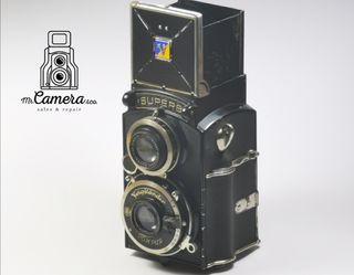 cámara TLR voigtlander SUPERB wartime