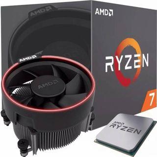 AMD Ryzen 7 2700 - Procesador con disipador