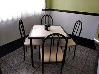 Blanco LOVEMYHOUSE Comedor Sillas de Cocina Juego de 4 sillones de tulip/án con Cuero sint/ético y Respaldo para Bar de Restaurante de Oficina