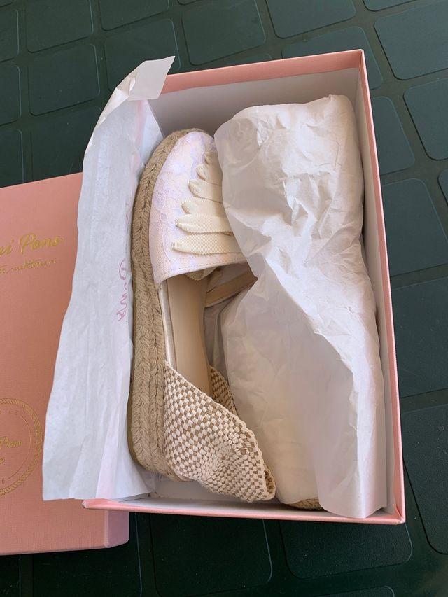 Zapato boda novia