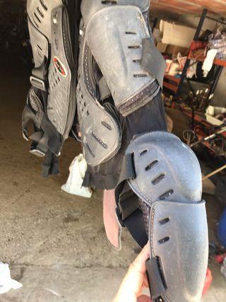 Peto de protección para moto talla M