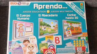 Multijuego educativo