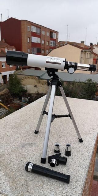 Visión refraccion 360X50 Telescopio astronómico co