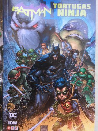 Cómics Batman x Tortugas ninjas